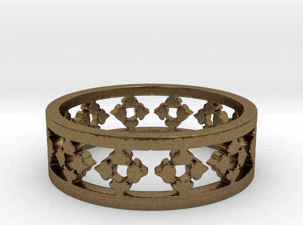 Endless Knight Ring Size 12.5 3d printed