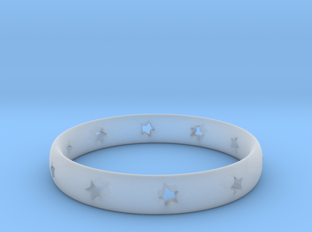 Starlet Ring 3d printed