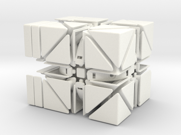 Heritombo Cube (Version 2) 3d printed