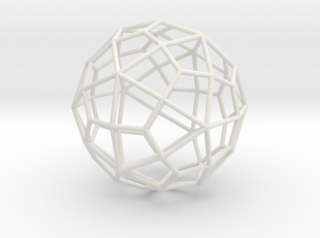 DeltoidalHexecontahedron 70mm 3d printed