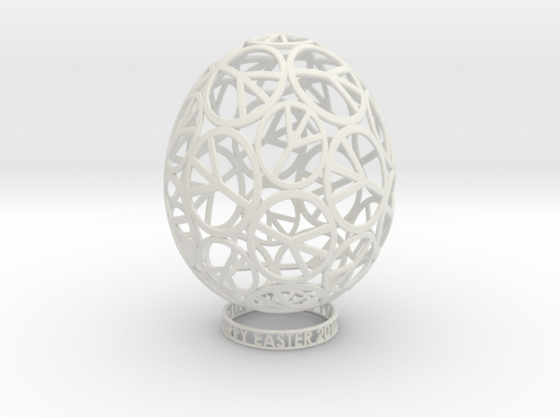 EASTER PEACE EGG 3d printed