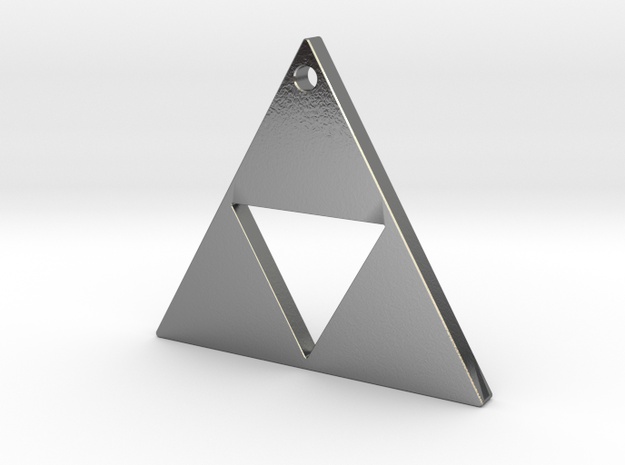 Triangle Pendant 2.3cms 3d printed