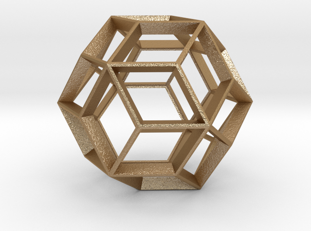 Polyhedral Sculpture #22A 3d printed