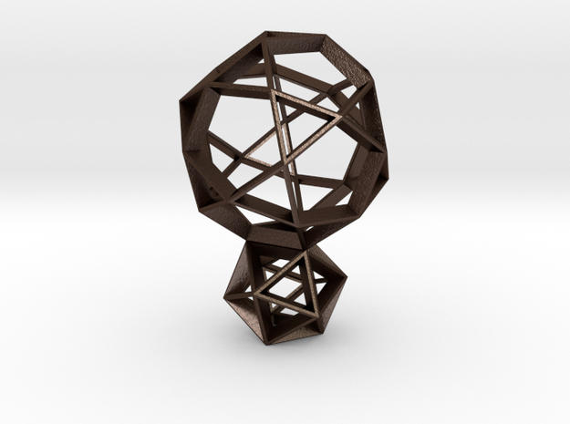 Polyhedral Sculpture #25 3d printed
