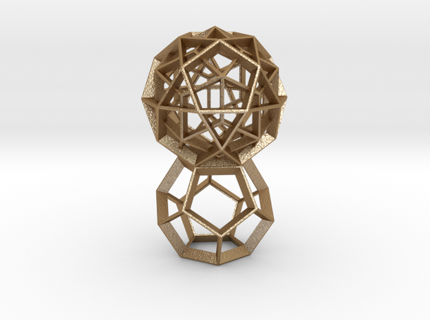 Polyhedral Sculpture #24 3d printed