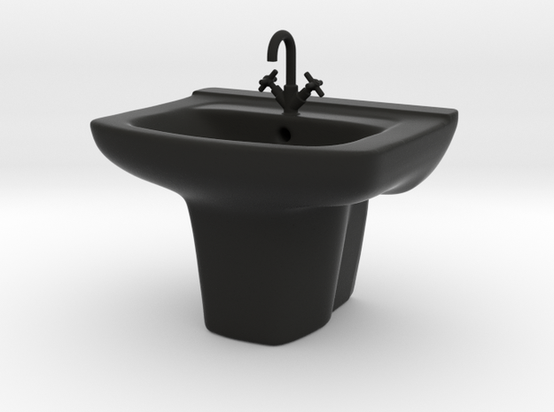 1:39 Scale Model - Sink 04 3d printed