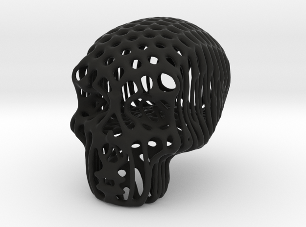 Sugar Skull Candy Jewell Sculpt 3d printed