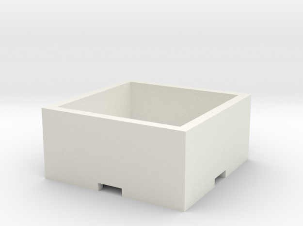 Plant Pot 15x15x6 cm / 5,90x5,90x2,36 in 3d printed