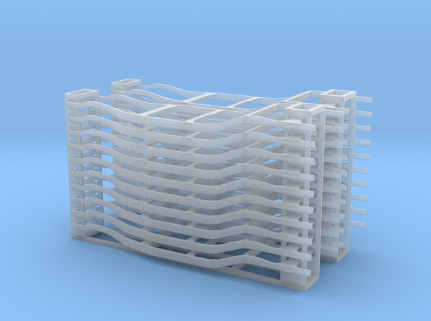 Automobile Frames - HO scale 3d printed