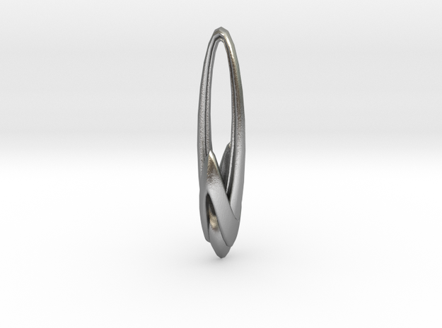Arching Earring 3d printed