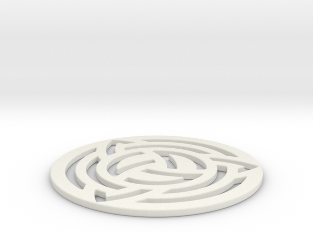 Milk Hill 2011 Crop Circle Geometry 3d printed