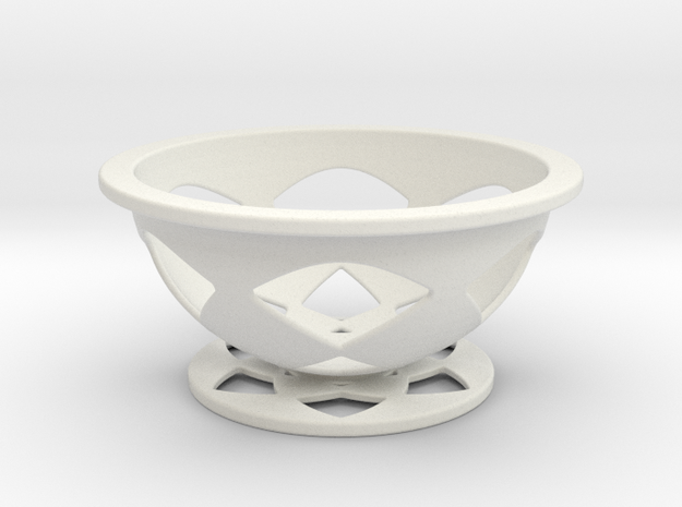 Font Hill Crop Circle Basket Flat Bottom 3d printed