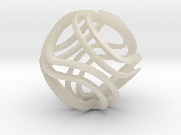 Twisted Infinite 3d printed