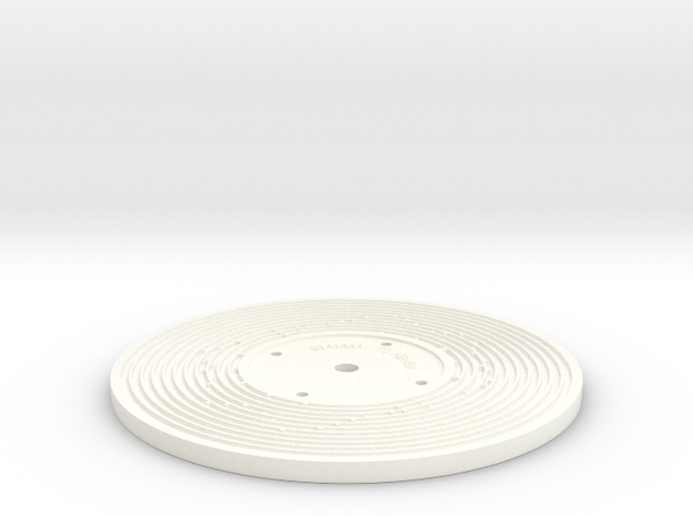 Double sided - Fisher Price record (5mm) 3d printed
