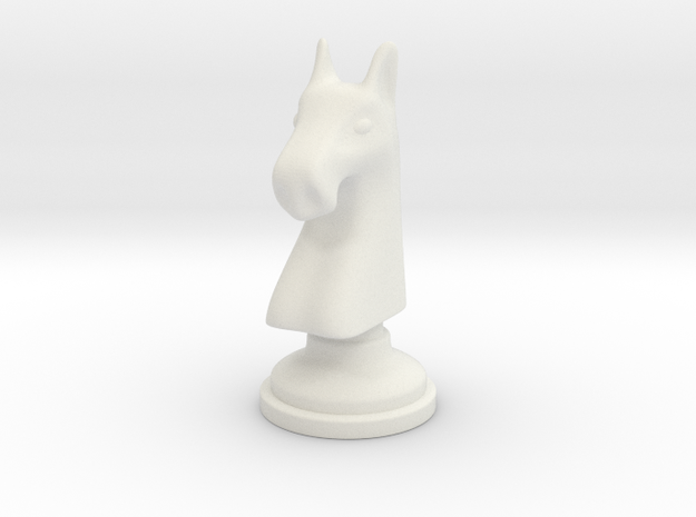 Chess figure - Horse 3d printed
