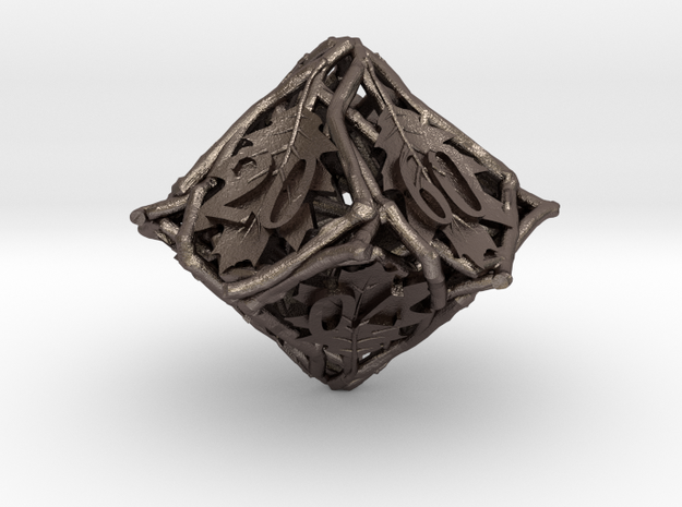 Botanical Decader Die10 (Oak) 3d printed