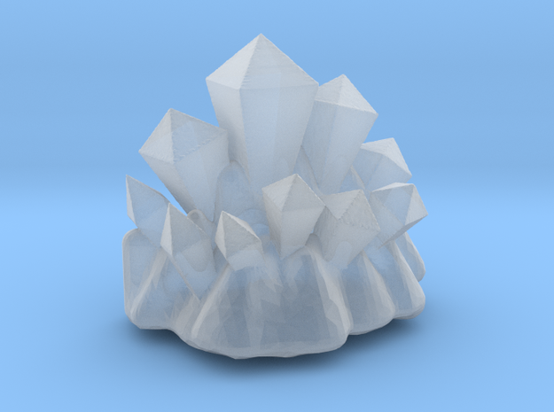 Coridite Crystals (Version 2) 3d printed Frosted - then hand painted