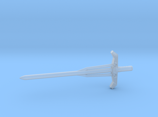 Botcon Laser Rod Electrons/Electro 4.5mm Sword 3d printed
