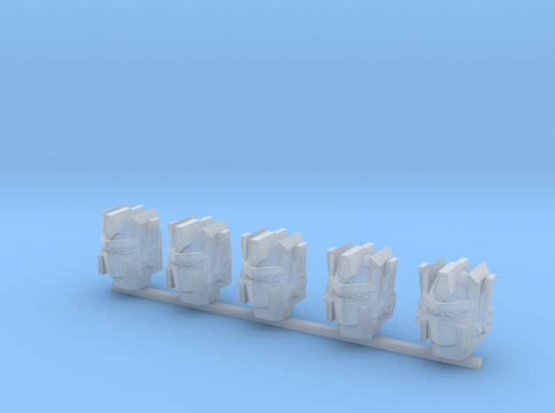 Autobot heads 001a (prime heads) (x5)