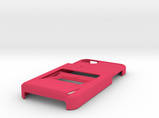 iphone 5 tank case with bottle opener, clip, walle 3d printed