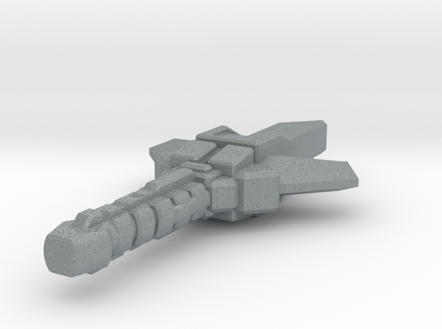 Cybersonic Scimitar Part A 3d printed