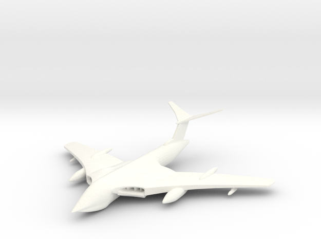 1/285 (6mm) Handley Page Victor Bomber 3d printed