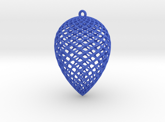 Christmas Pine Cone Decoration 3d printed