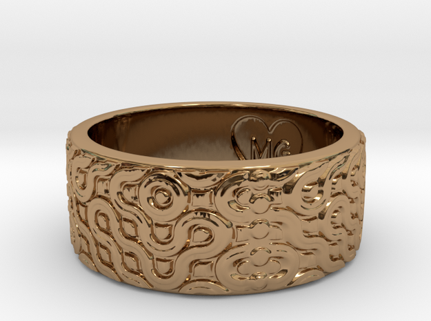 Marrakech Ring 3d printed