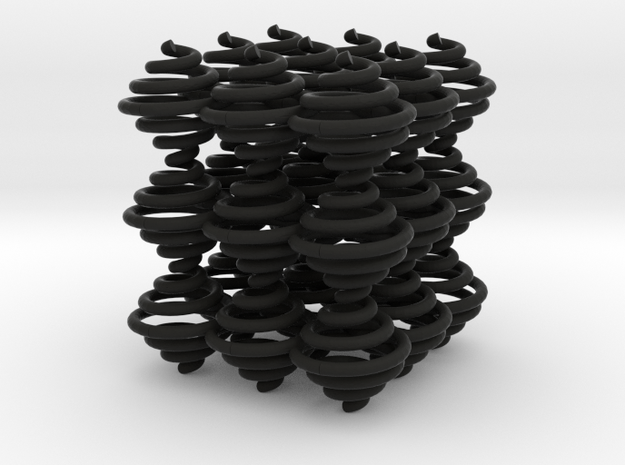 Spiral Cube3 by Ben Hart 3d printed