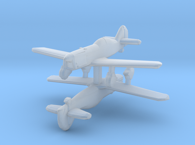 1/300 Latvian VEF Irbitis I16 Fighter 3d printed