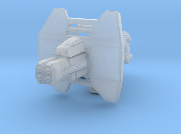 advanced thermal laser cannon 001a carried with sh 3d printed