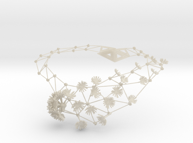 New Dandelion Necklaces 3d printed