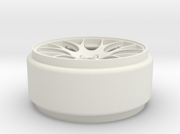1-18 FRONT WHEEL 3d printed