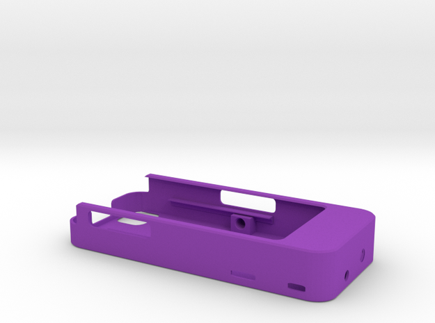 iPhone4/4s Camera Mount 2500mah Charger with USB O 3d printed