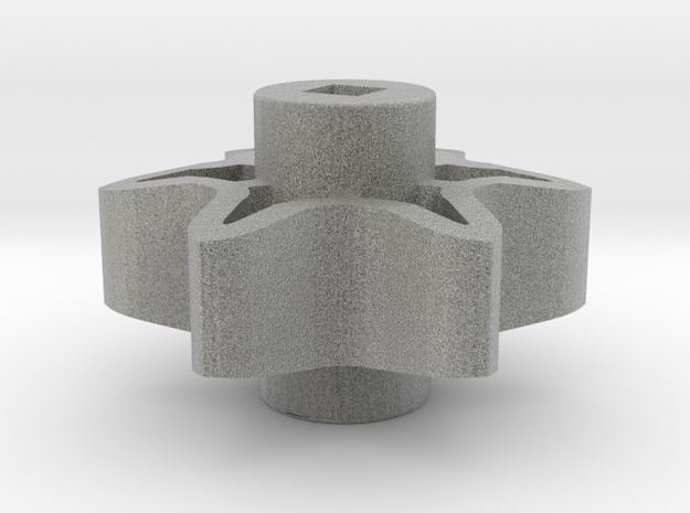 6-Tooth High Strength Sprocket 3d printed