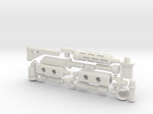ModiBot 'Recon' System Firearm Set 3d printed