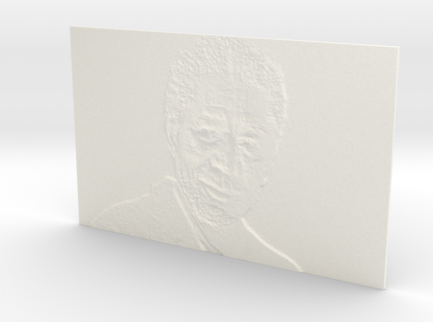 Morgan Freeman 3d printed