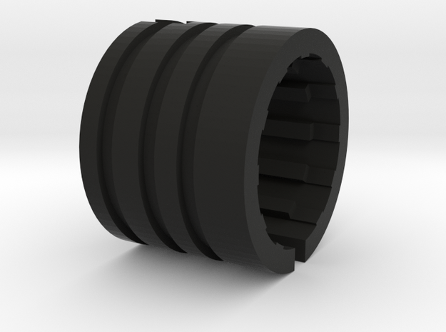 Bell & Howell Lens adapter to ELMO 16mm projector 3d printed