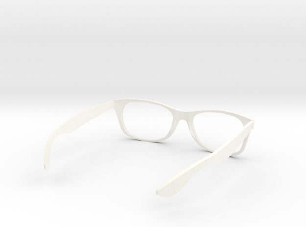 (wayfarer) unisex glasses - type 3 v1.0 3d printed