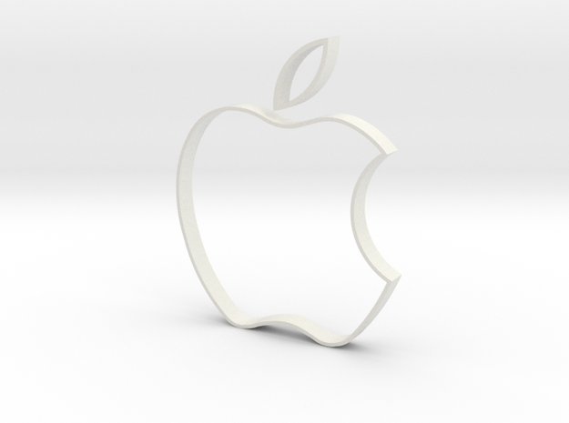 Apple Cookie Cutter 3d printed