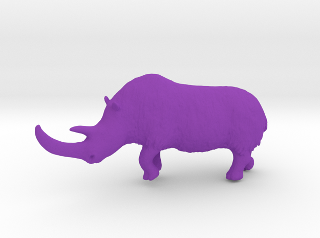 Woolly rhinoceros 3d printed