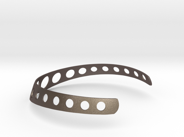 Steel Neckbangle 3d printed