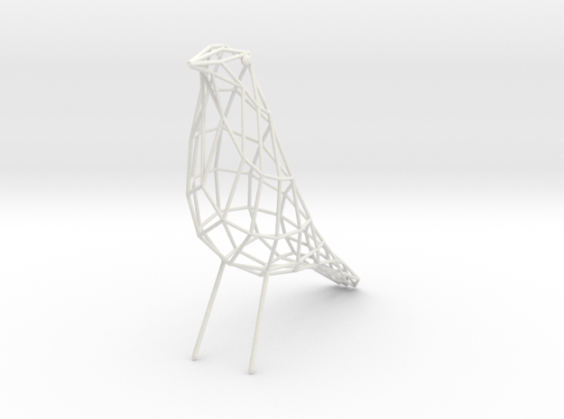 birdy - small (h:11cm/4.2In) 3d printed