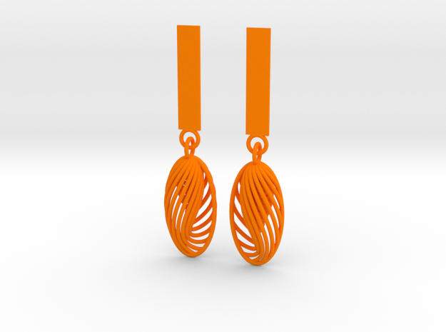 Quark Earrings - Eternal Drops (1mz5ZO) 3d printed