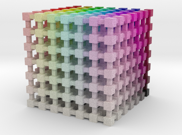 HSL Color Cube: 2 inch 3d printed