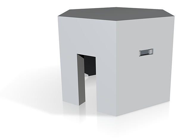 Type 22 Pillbox 4mm scale 3d printed