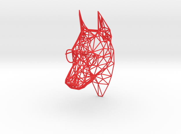 "wall decoration ""Dawg"" (h:14.5cm/4.5 inch) 3d printed"