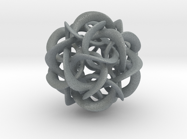 Dodecahedron VIII, large 3d printed