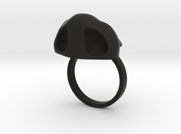 Amazing Zheng3 Nose Ring, Size 7 3d printed