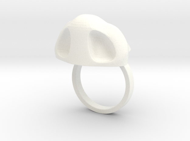 Amazing Zheng3 Nose Ring, Size 5 3d printed